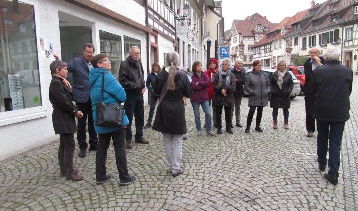 Gruppe Stadtführung Gernsbach